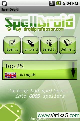 Spelldroid lite