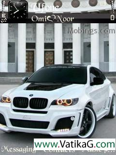 Bmw x6 s60v3 theme
