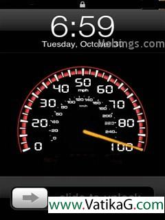 Speedometer s60v3 theme