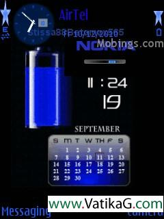 Nokia clock s60v3 theme