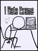 I hate exam
