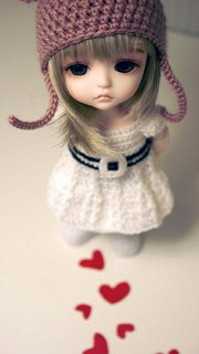 Cute barbi doll