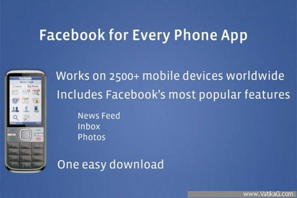 Facebook phone app