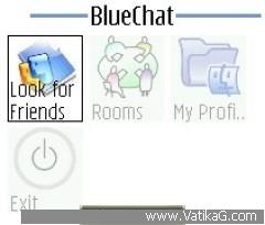 Blue chat