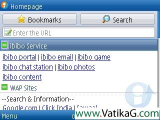 Ibibo browser s60v2