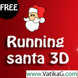 Running santa 3d