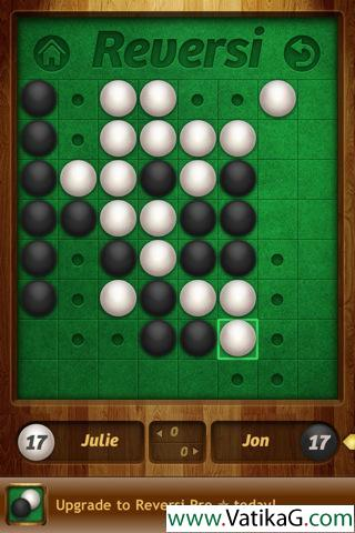 Reversi iphone game