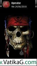Pirates skull