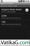 Airplane auto switch