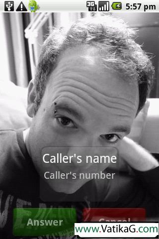 Full screen caller id v3