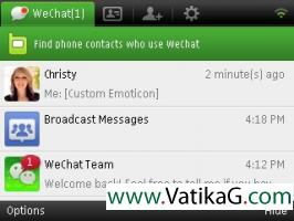 Wechat 4.0 symbian