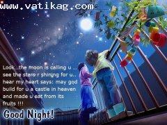 Girlfriend boyfriend sweet night dream wallpapaers